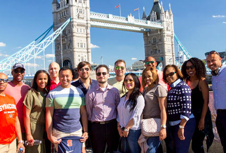 MBA students in London