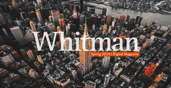 Whitman Spring 2019 Magazine over NYC