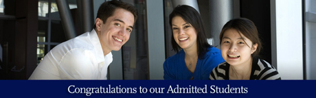 Admitted Students Banner