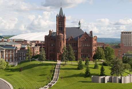 The Syracuse University Campus