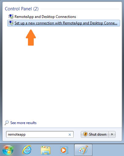 how to change url in remoteapp